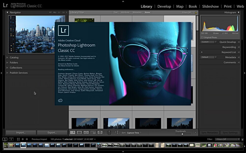 Adobe Photoshop Lightroom CC Classic 2019 v8.3.1 With Crack