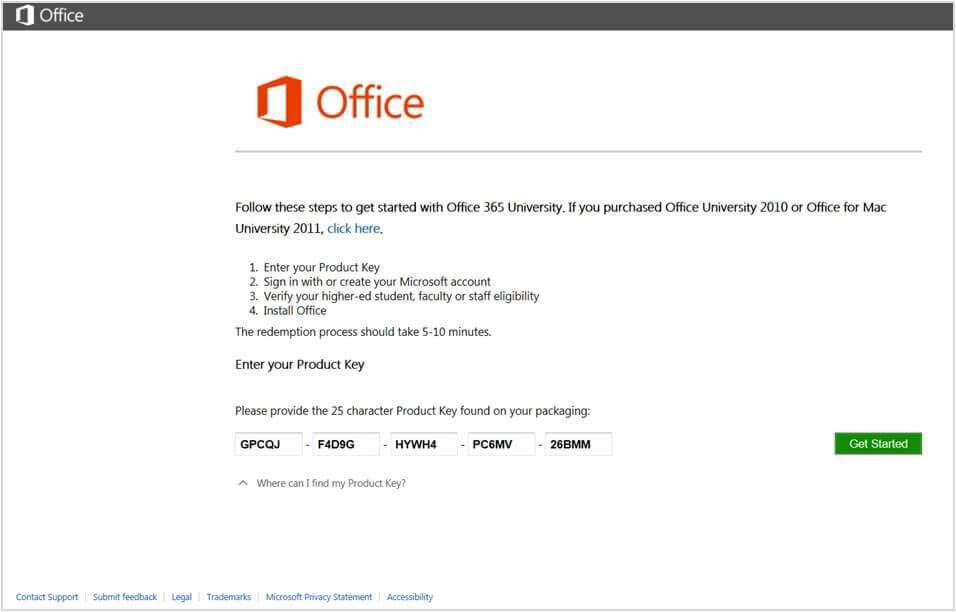 Microsoft Office 365 Product Key 2020 [Cracked] + Activator