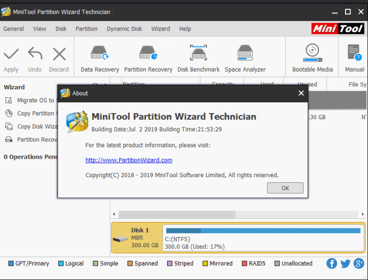 MiniTool Partition Wizard Technician Crack 12.0 With Serial Key [Latest]