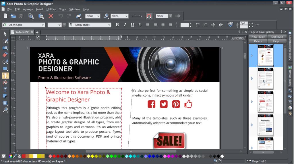 Xara Photo & Graphic Designer 17.0.0.58775 With crack