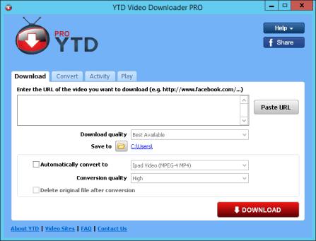 YTD Video Downloader PRO 5.9.0.3 Free