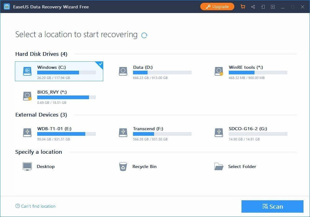 Download EaseUS Data Recovery Crack 13.3 With Serial Key Full 2020