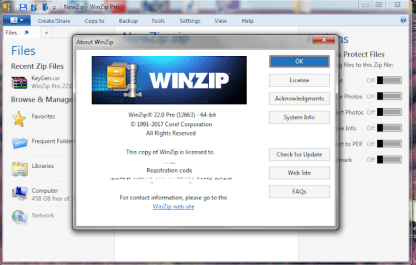 WinZip Pro 25.0 Crack with Activation Key Free Download