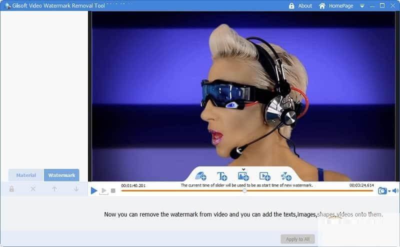 GiliSoft Video Watermark Removal Tool 2020.08.08 + Serial key