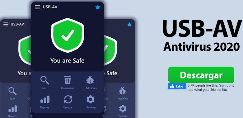 USB-AV Antivirus 2020 v.3.8.0.0 Final-P2P
