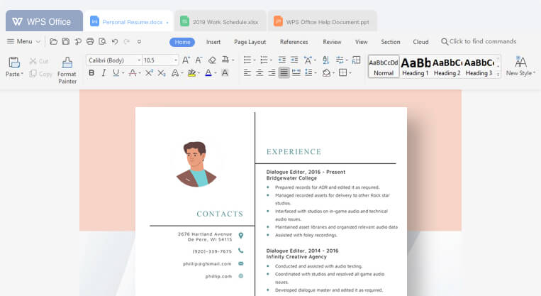 WPS Office for Mac: Free Download + Review [Latest Version]