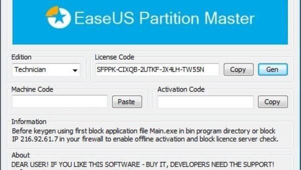 EaseUS Partition Master 15.5 Crack