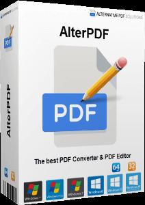 AlterPDF Pro 5.1 + Crack